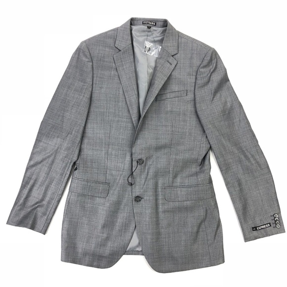 f8ac920ab8e Express Mens Sport Coat Blazer Jacket 40 Long